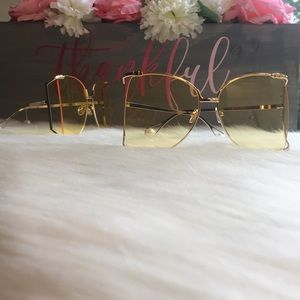 Accessories - 2 for $30 Oversized Sunglasses / Pearl Sunglasses